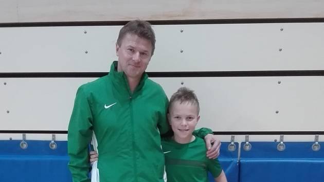 Jan Beránek, fotbalová naděje FK Jablonec kategorie U11, patří k oporám týmu. Sleduje prvoligové zápasy a Jabloneckým by poradil lépe proměňovat šance.