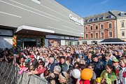 Slavnostní otevření obchodního domu Central v Jablonci.