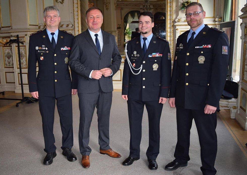 Okrskář roku 2019 Miroslav Soukup ze mšenského obvodního oddělení Policie ČR.