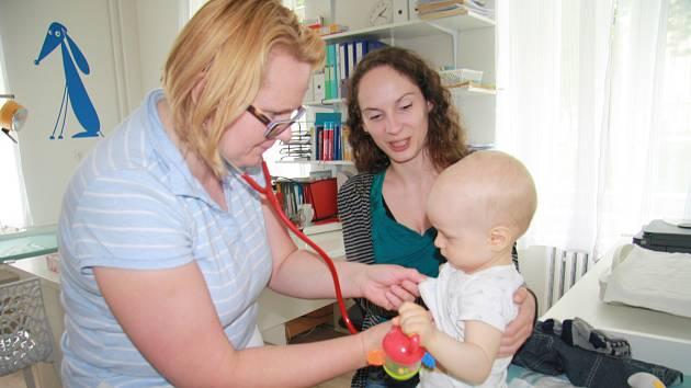 V Železném Brodě zůstala jediná dětská lékařka. Ilustrační foto.