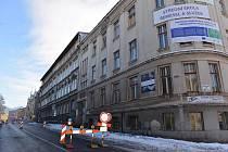 Budova Střední odborné školy řemesel a služeb v Podhorské ulici v Jablonci nad Nisou.
