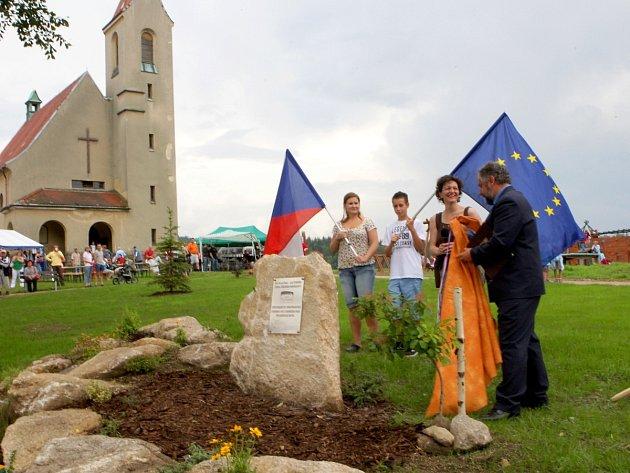 Otevření areálu na Teprberku
