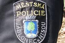 Městská policie v Jablonci. Ilustrační snímek.