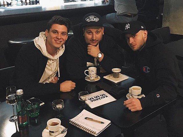 Všichni pohromadě - Sebastian, Jakub Děkan a Hank z ATMO Music