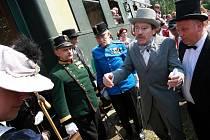 Probíhající 18. Rychnovské kulturní dny 2011 navštívil i císař František Josef I.