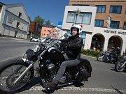Zahájení moto sezóny v Železném Brodě.