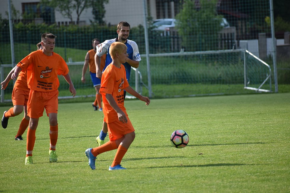 Dlouho drželi fanoušci Spartaku Smržova vedení a svůj tým  proháněli. Jak  by to dopadlo, kdyby  šlo o body.