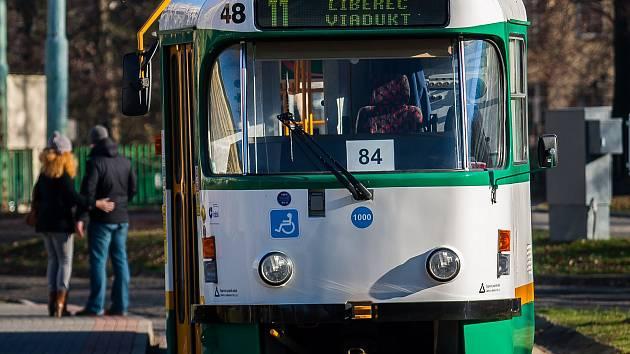 Ilustrační foto - Tramvaj v Jablonci nad Nisou