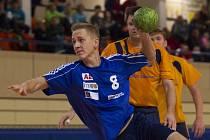 Jablonecký házenkář Tomáš Hána byl s 25 góly nejlepším střelcem Memoriálu Míly Koloce v Ústí nad Labem.