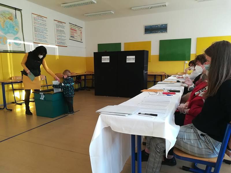 Volby do Poslanecké sněmovny v Jablonci nad Nisou.
