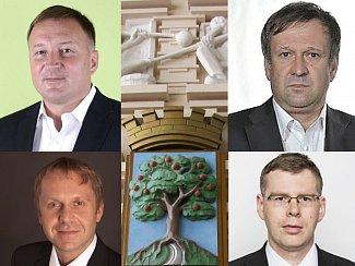 Vedení města Jablonec nad Nisou pro rok 2014 - 2018.