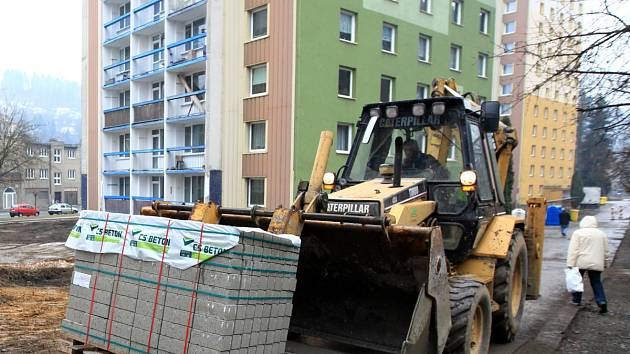 Vaněčkova ulice - tam letos proběhly i úpravy prostranství