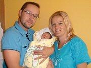 Amálie Malá se narodila Petře Malé a Tomášovi Čuříkovi z Jablonce nad Nisou 8. 9. 2014. Měřila 48 cm, vážila 2600 g.