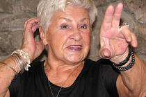Bývalá televizní hlasatelka Kamila Moučková.
