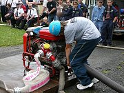 Sbor dobrovolných hasičů Zlatá Olešnice. Pořádně utáhnout.