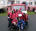 Sbor dobrovolných hasičů Zlatá Olešnice. Radost z úspěchu.