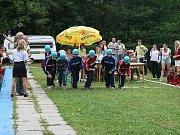 Sbor dobrovolných hasičů Zlatá Olešnice. Soustředění na startu.