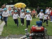Sbor dobrovolných hasičů Zlatá Olešnice. Start.