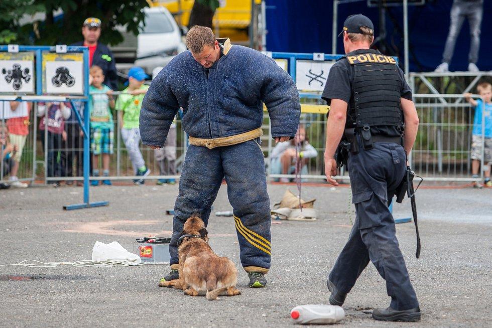 Den integrovaného záchranného systému proběhl 19. června v Železném Brodě na Jablonecku. K vidění byly ukázky činnosti policejních psovodů, hasičů nebo červeného kříže.