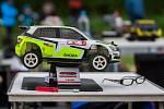 Mistrovství republiky rádiem řízených rallye modelů v Albrechticích v JIzerských horách.