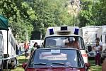 Den s Embéčkem přitáhl na Malou Skálu autoveterány.