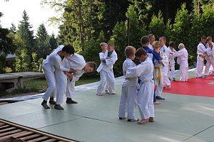 Členové jabloneckého Judo Klubu zakončili přípravu na chatě Slovanka
