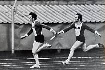 Dnes si připomínáme běžecké disciplíny v prvním díle. Poznáte běžce na snímcích?