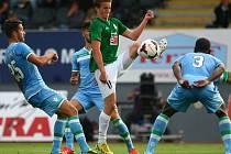 Jan Kopic si chce zápas užít a pokusit se postoupit.
