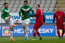 Fotbalisté Sokola Radčice si v rámci projektu Kopeme za fotbal zahráli proti ligovým fotbalistům Baumitu Jablonec.