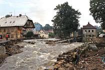 Povodeň v Libereckém kraji v srpnu 2010 očima čtenářů.