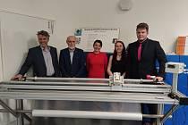 Ve 4. ročníku soutěže Technowizz zvítězil tým ve složení Andrea Peukerová a Daniel Šabatka s garantem Leou Huškovou ze Střední průmyslové školy technické v Jablonci.