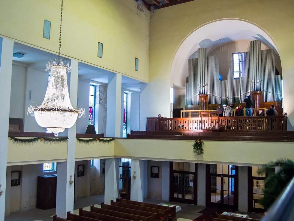 Varhany v kostele Nejsvětějšího Srdce Ježíšova potřebují zoufale zrekonstruovat
