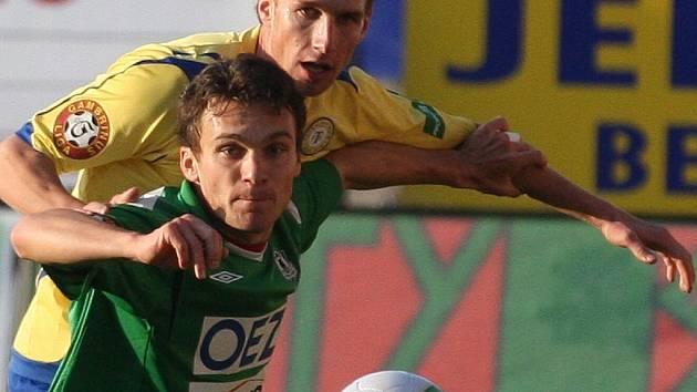 Jablonec prohrál v Chance aréně s Teplicemi po dlouhých deseti letech. David Lafata a Antonín Rosa.
