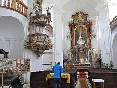 Kostel má za sebou zajímavou historii. Na tabulích jste během prohlídky kostela mohli vidět unikátní snímky nebo si přečíst více o samotném smržovském kostele.