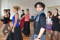 EDUARD ZUBÁK vede na letošním Létu tančí 2014 kurzy žhavého flamenca.