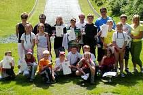 Čeští mladí skokané z oddílů JKL Desná, Jiskra Harrachov a TJ Frenštát p. R. závodili v Německu na můstcích s umělým povrchem.