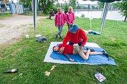 Krajské kolo Helpíkova poháru Libereckého kraje, zdravotně výchovné soutěže v první pomoci pro žáky pátých tříd základních škol, proběhlo 16. května u vodní nádrže Mšeno v Jablonci nad Nisou.