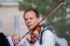 Jakub a Karolína Kocnovi odehráli 6. června v Jablonci nad Nisou koncert pro housle a violu. Vystoupení proběhlo v rámci hudebního festivalu Město plné tónů 2018.