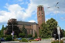 Kostel Nejsvětějšího Srdce Ježíšova na Horním náměstí v Jablonci nad Nisou