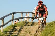 Jablonecký cyklista Petr Salaba.