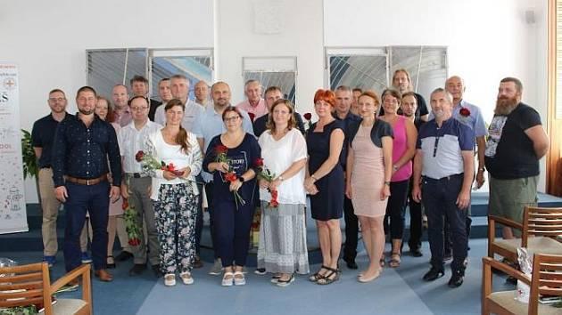 Ocenění dárci krve v Jablonci nad Nisou.