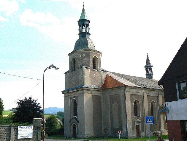 Kostel sv. Bartoloměje v Držkově.
