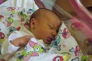 PATRICIE ZAJÍCOVÁ se narodila v úterý 8. srpna mamince Haně Huškové z Benešova u Semil. Měřila 47 centimetrů a vážila 3,37 kg.