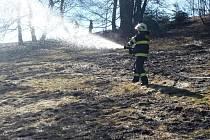 Požár ve Smržovce