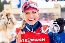 Gabriela Soukalová zakončila biatlonovou sezonu stříbrem. A to jsou její noví mazlíci.