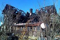 Požár rodinného domu Maršovice
