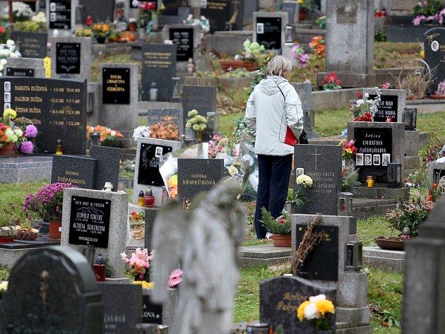 Hřbitov v Jablonci n. N.