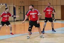 V jablonecké Městské sportovní hale byli fanoušci svědky házenkářského derby mezi domácími a soupeři z Liberce. O napínavé okamžiky nebyla nouze.