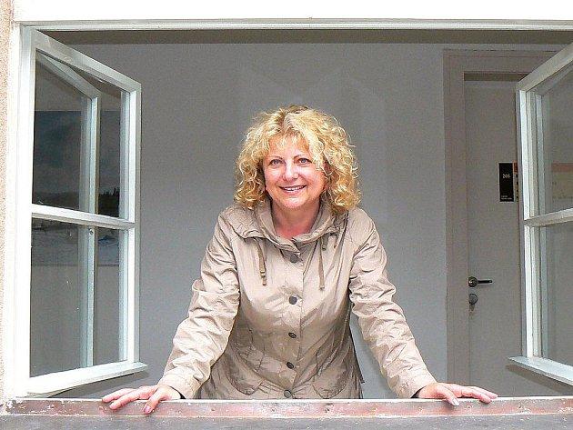 Helena Ungermannová, ředitelka Oblastního spolku Českého červeného kříže v Jablonci