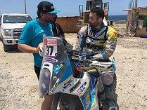 Milan Engel letošní Dakaru nedokončí. Po pádu na kamenité cestě skončil v nemocnici.